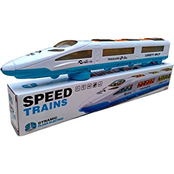 Gifts Online Emu Speed Train for Kids with 3D Lights & Music