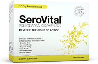 SeroVital Renewal Complex 148 Count - Serovitol-hgh for Women - Hgh Booster for Women Supplements - Human Growth Hormone B...
