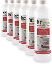6 x 1 L bioéthanol premium 100% pour cheminée - FRAIS DE PORT OFFERT - en bouteilles de 1 L