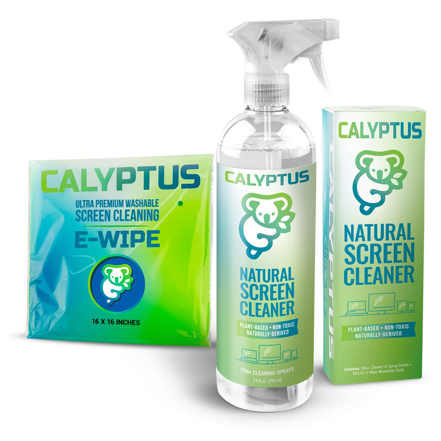 Calyptus Cleaning Television Non Toxic Microfiber