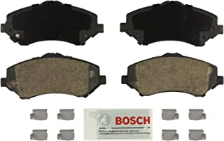 Bosch BE1327H Blue Disc Brake Pad Set with Hardware for Select Chrysler, Dodge, Jeep, Ram, and Volkswagen SUVs and Vans - FRONT