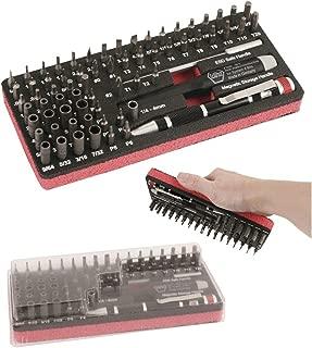 Wiha Premium Tools Wiha Tools 75968 Master Tech ESD Micro Bit 68PC Work Station Set w/Dust Cover