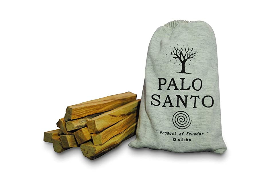 機械的配管傷つけるオルタナティブ ミラクル パロ サント スマッジスティック - 野生の収穫 聖なる木のお香 スマッジスティック