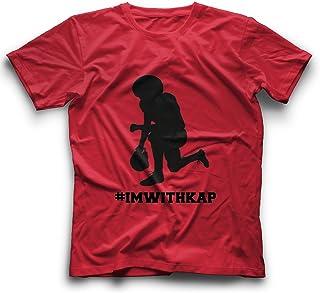 WeGotGood Im with Kap Shirt Take a Knee T Shirt This is Why We Kneel Tshirt