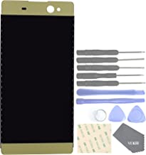 VEKIR Display and Touch Assembly Screen for Sony Xperia XA Ultra F3211 F3213 F3215(Lime Gold)