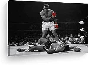 "Muhammad Ali Pictures Decorative Art Canvas Print Modern Wall Decor Artwork - ALIH38 8"" x 12"" - Ready to Hang"