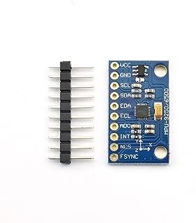 ZYAMY MPU6500 6DOF 6-Axis Gyroscope Accelerometer Sensor Module for Arduino DIY Kit IIC I2C SPI Interface with Pins GY-6500