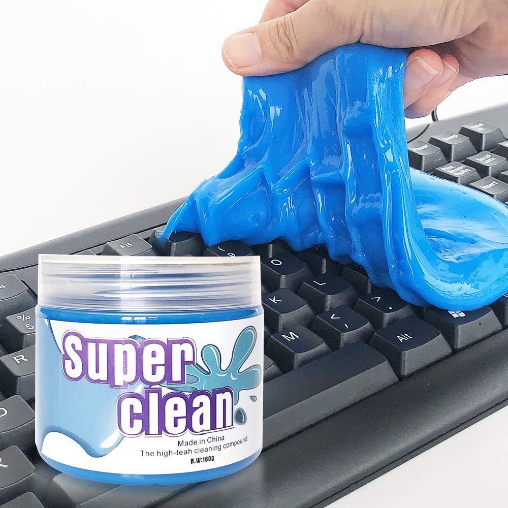 Dust Hair MyLohas Universal Keyboard Clean Mud,Slime Remove Dust Dirt Cleaning Gel for Crumbs Powder
