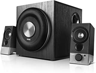 Edifier USA M3600D Multimedia 2.1 Active Speaker System - THX Certified - 200 Watts RMS Black (4003332)