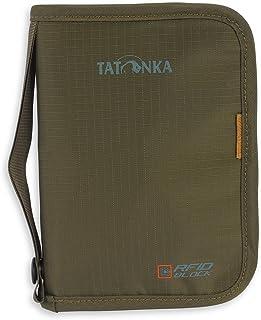 Tatonka Travel Zip M RFID B – reseväska med RFID-blockerande – TÜV-testad – ger plats för (EU) pass, kreditkort, resedokum...