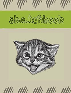 Artist & Student Sketchbook: Premium art illustration sketch pad journal, blank pages, ideal for drawing, sketching, doodl...
