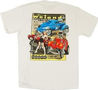 Weiand 10008-XXLWND White XX-Large 'Drag Star' T-Shirt