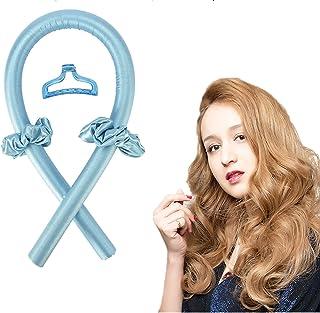 Tik Tok Women Heatless Hair Curlers For Long Hair To Sleep In Overnight No Heat Silk Curls Headband, Soft Foam Hair Roller...