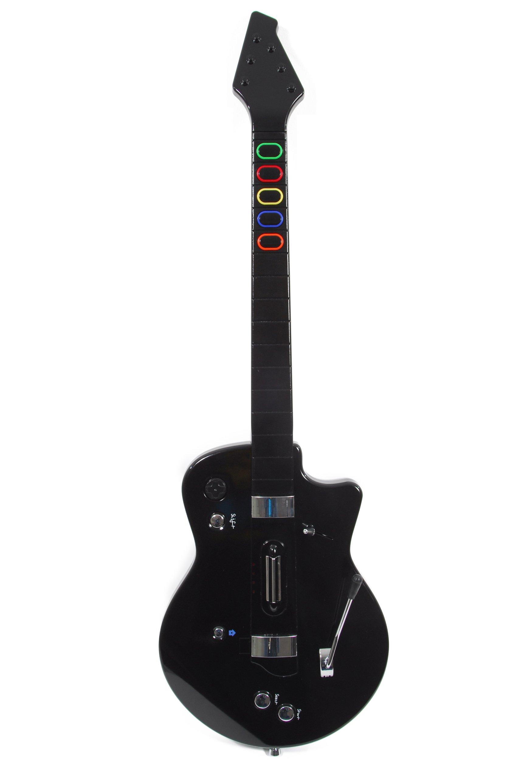 SFG Wireless Guitar - No Remote Required (Wii) [Importación ...