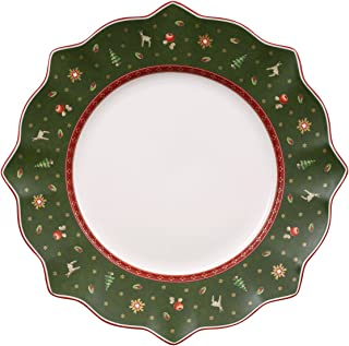 Villeroy & Boch Toy's Delight 290 mm Flat, Green, Dinner Plate