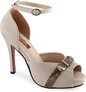 Shuz Touch Beige Pump Shoe