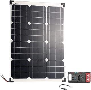 reVolt Solarzellen: Mini-Powerbank & Solar-Konverter mit Solarpanel, 24 Ah, 120 Watt (Solar-Powerbank 12V)