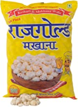 Rajgold Regular Lotus Seeds Pop/Gorgon Nut Puffed Kernel (Makhana) Grade - Big Size Pouch 1 kg