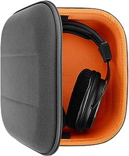 Geekria Funda para Auriculares RCA WHP141B, Koss R80 UR40 UR-20, SHURE SRH840 SRH440 SRH240A, HiFiMAN HE1000 Edition X, Estuch Rígido de Transporte, Viaje Bolsa