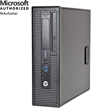 HP EliteDesk 800 G1 SFF Desktop,Intel i5,16GB RAM,256GB SSD,Win10 Pro(Renewed)