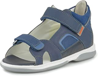 Memo Capri Corrective Ankle Support Orthopedic AFO Sandal, Purple, (Little Kid/Big Kid)