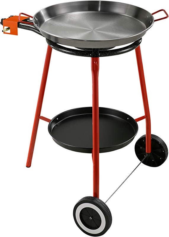 Paella Burner Quemador W Wheels