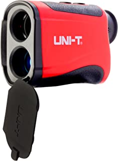 LEAGY UNI-T LM600 Laser Rangefinder Digital Laser Distance Meter with Built-in Rechargeable Lithium Battery and Micro-USB Charging Port That Measures Up to 656 Yards for Golf Hunting Surveying