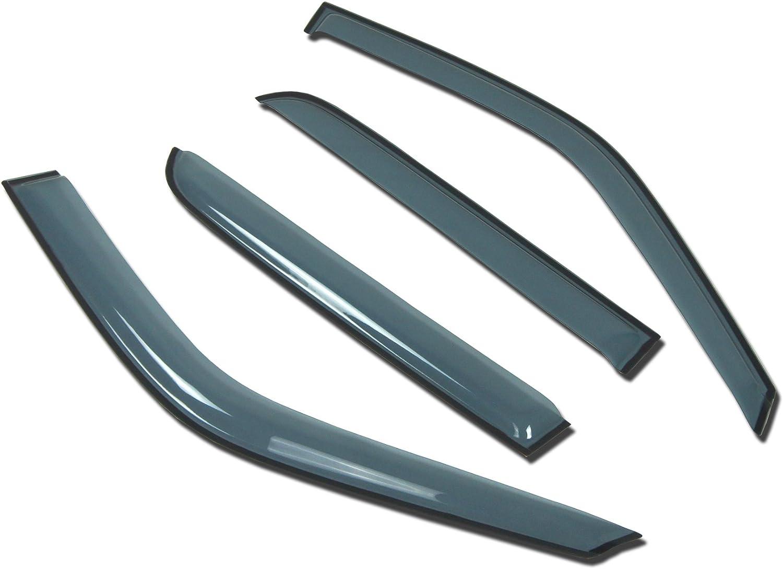 TuningPros 倉 LGWV-405-2 Out-Channel Window 予約販売 Gu Rain Deflector Visor
