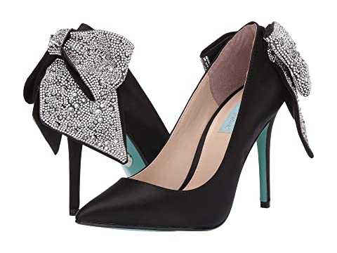 703031448836 Blue by Betsey Johnson Bryn Pump at Zappos.com