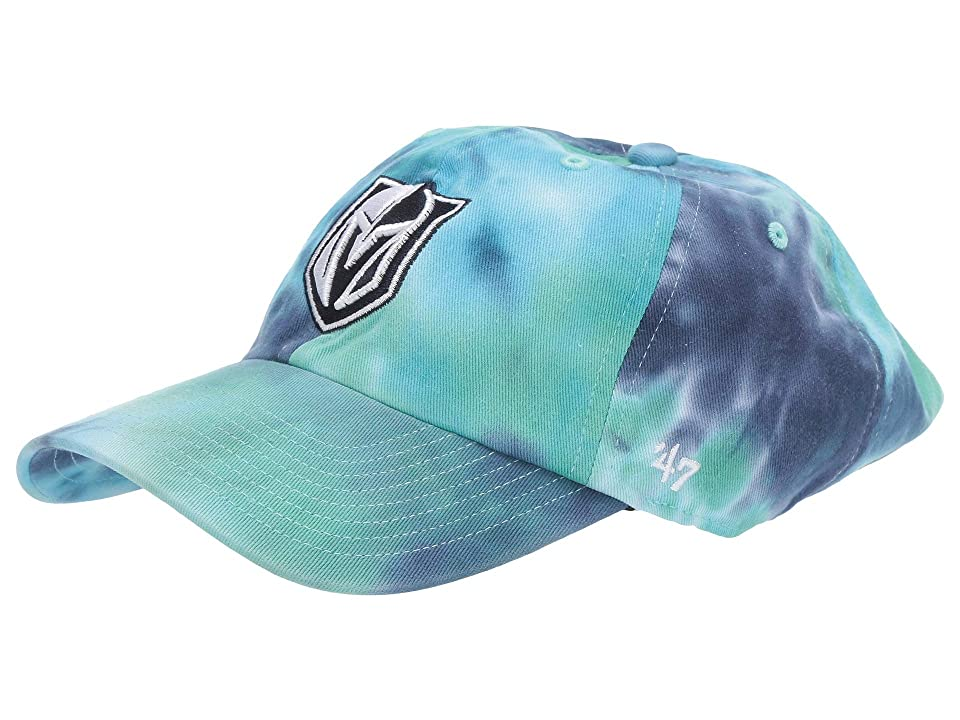 Image of '47 LV Golden Knights Marbled 47 Clean Up (Rattle Teal) Baseball Caps