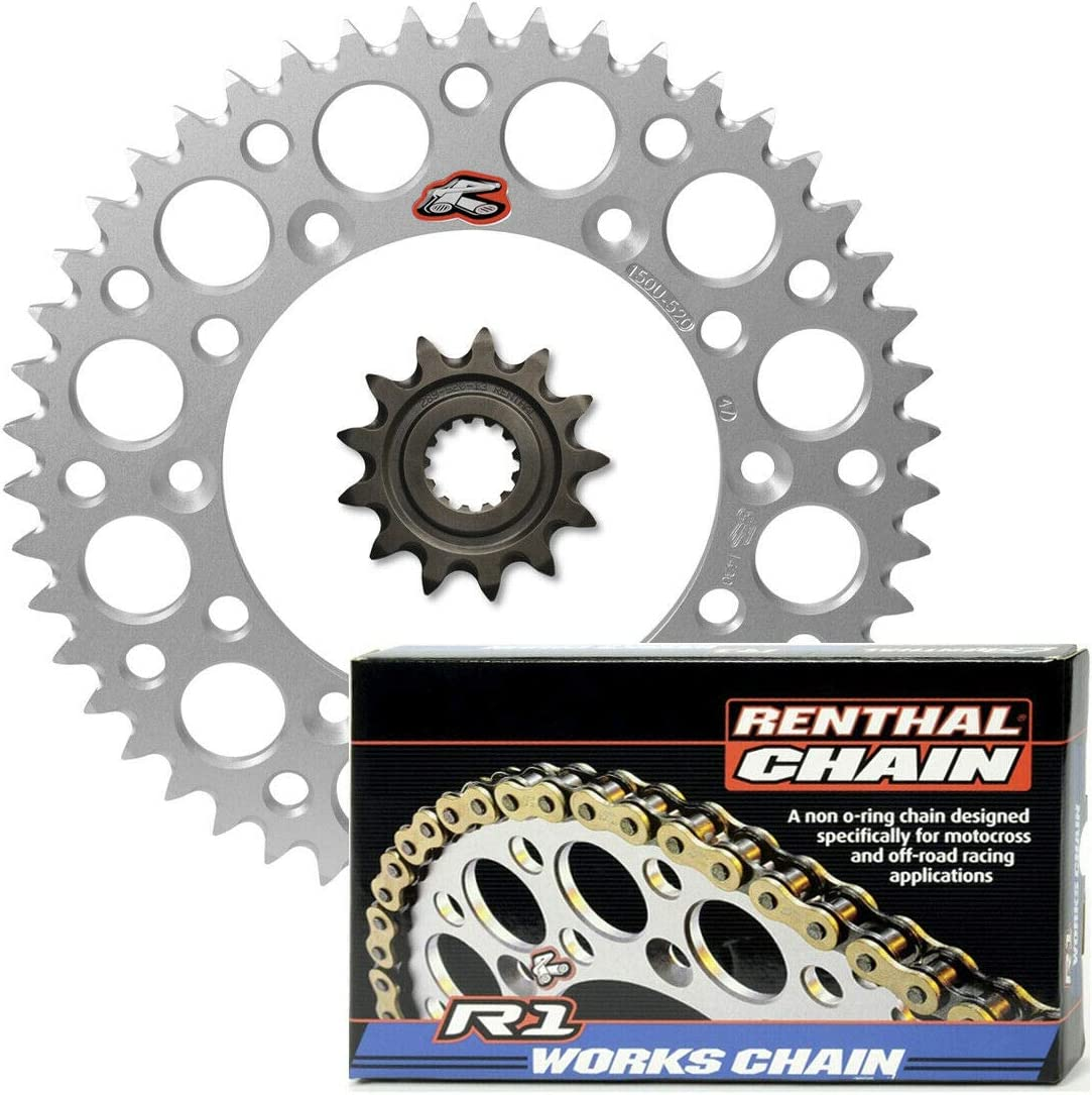 Renthal Grooved Front Soldering Ultralight Rear Store MX R1 Sprockets Works