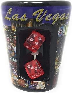 Las Vegas souvenir Shot glass dice