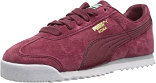 PUMA unisex-child Roma Gents Nubuck Kids Sneaker