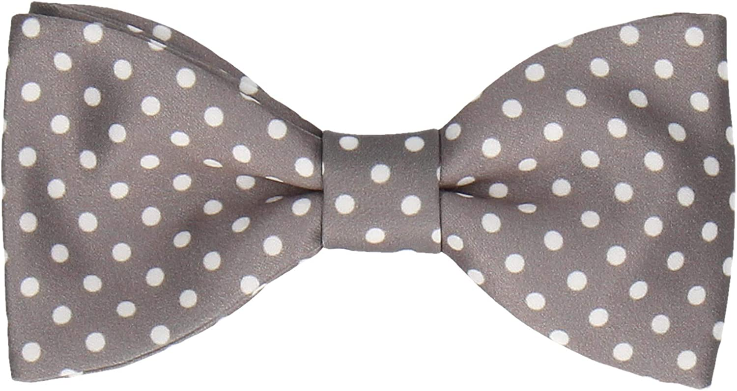 Mrs Bow Tie, Bow Tie with Dots, Pre-Tied, Self-Tying Bow Ties