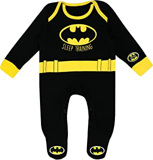 Batman Baby Jungen DC Comics Schlafstrampler