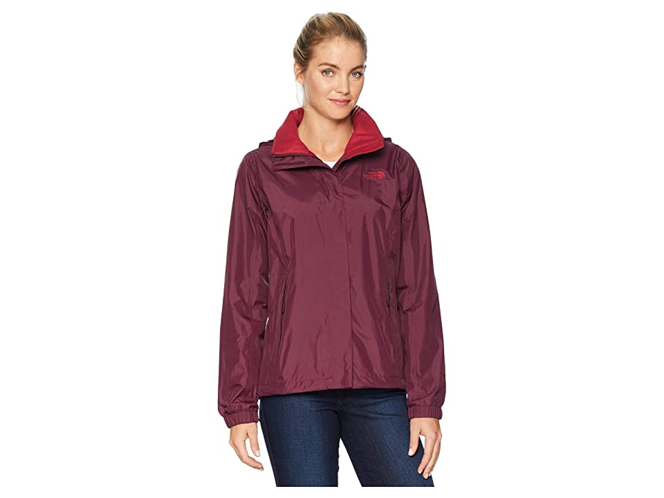 The North Face Resolve 2 Jacket (Fig/Rumba Red) Women