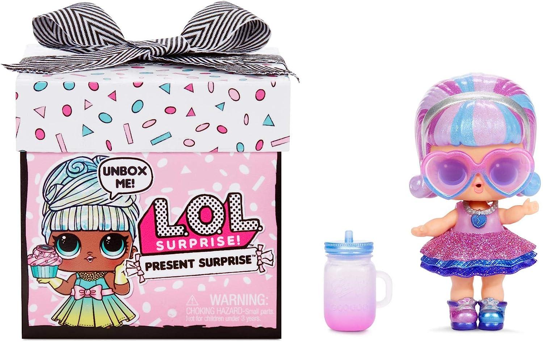 LOL Surprise cadeau surprise. Poupée du Mois avec 8 cadeaux Surprises. Changement de couleur amusant et accessoires. Série 1. Poupées de Collection pour les filles de 3 ans et plus