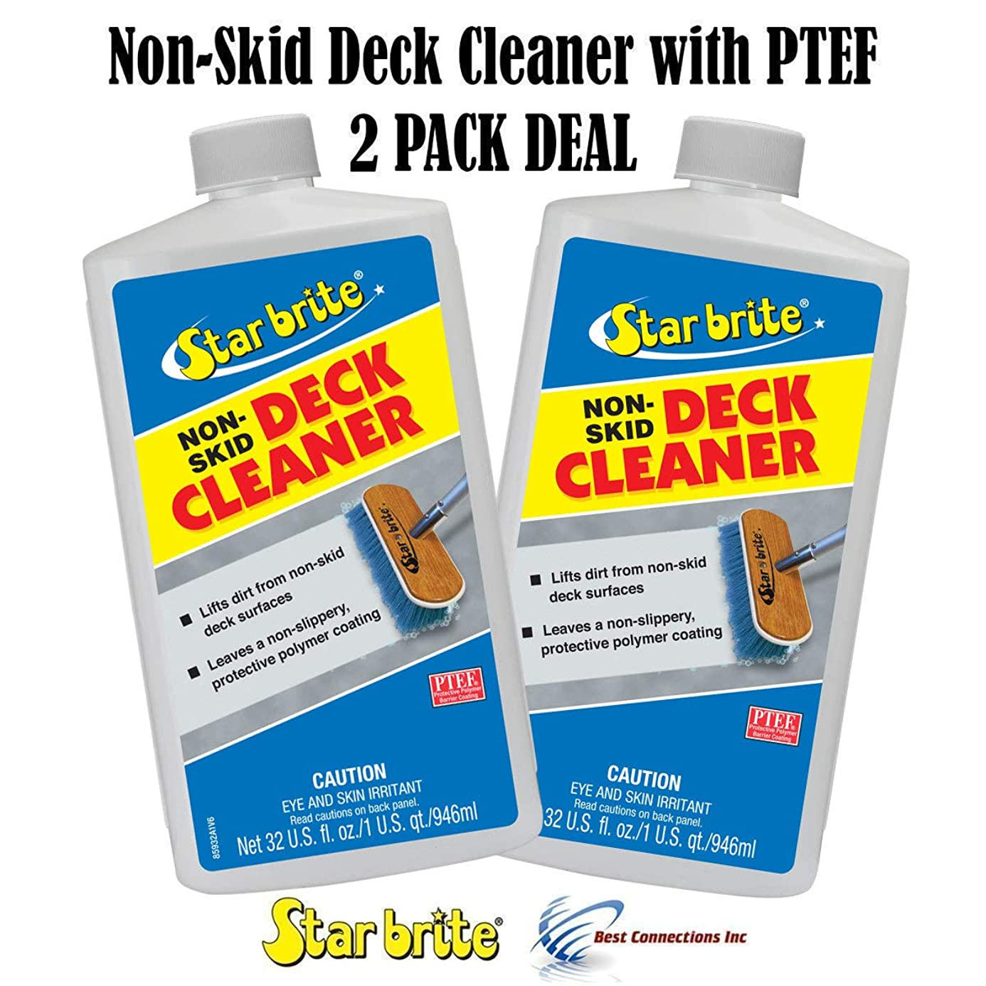 Starbrite 85932 Non-Skid Deck Cleaner W/ PTEF 32 oz (2 PACK DEAL)