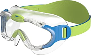 Speedo Blue Children's Sea Squad Mask Swim Goggles, Blue/Green, 2-6 years