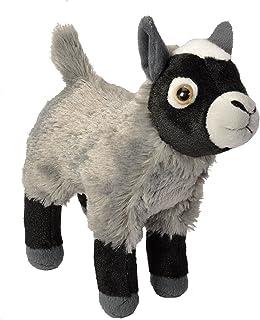 Wild Republic Goat Plush, Stuffed Animal, Plush Toy, Gifts for Kids, Cuddlekins 8 Inches , Original Version