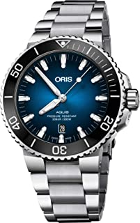 Oris Aquis Automatic Blue Dial Mens Watch 01 733 7730 4185-Set MB