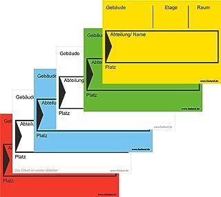 200x Umzugetiketten Nr.4, 105x74, Beschriftung mit Etiketten vom Umzugskarton für den Umzug, Umzugsetiketten, Mix Paket