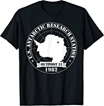 US Antarctic Research Station Outpost 31 Year 1982 T-shirt