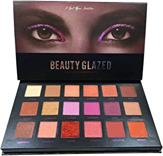SUNTRIC 24 Color Highly Pigmented Diamond Glitter Eye Shadow Palette Flash Shimmer Eyeshadow Make Up Palette (A3)