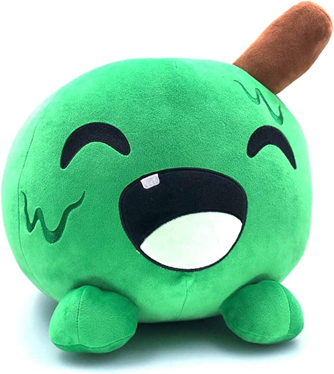 Slimecicle Plush Toy Cute Animal Stuffed Soft Doll Cartoon Figure Game Toys for Children Kids Gifts 20cm Green Green