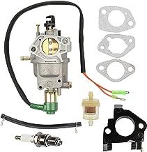 Yermax Carburetor + Fuel Filter Insulator for Champion Generator C41155 C49055 CSA40036 CSA41155 CSA41155E ETL7007
