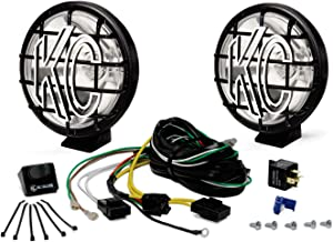 """KC HiLiTES 450 Apollo Pro 5"""" 55w Spot Beam Light with Integrated Stone Guard - Pair Pack System"""