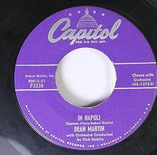 Dean Martin 45 RPM In Napoli / I Like Them All
