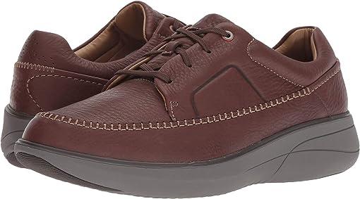 Mahogany Tumbled Leather