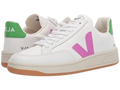 VEJA V-12 (White Mesh/Ultra Violet/Granny Leather) Women